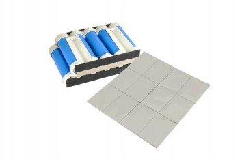 Thermal conductive silica gel pad