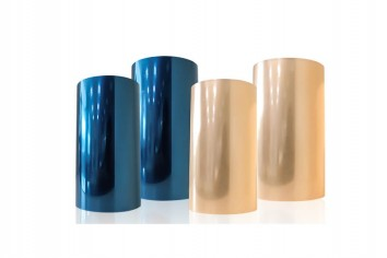What characteristics does the PET silicone protective film have?